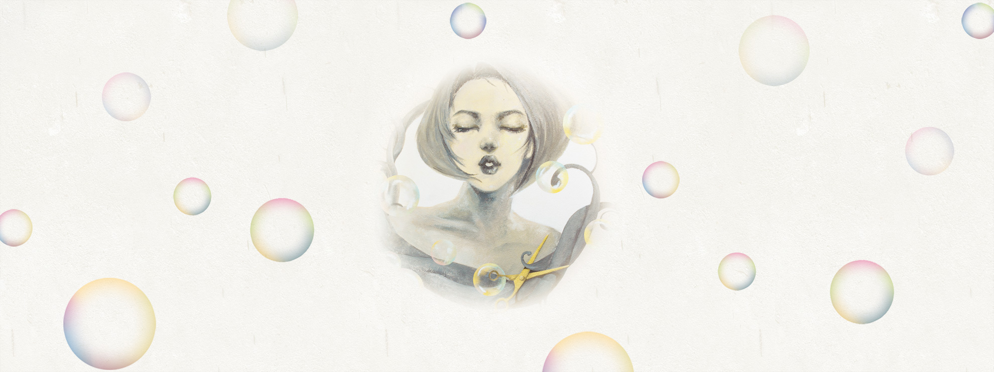 bubble-pop-electric-salon-wall-painting